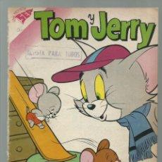 Tebeos: TOM Y JERRY 96, 1958, NOVARO, ENCUADERNACIÓN. COLECCIÓN A.T.. Lote 228051385