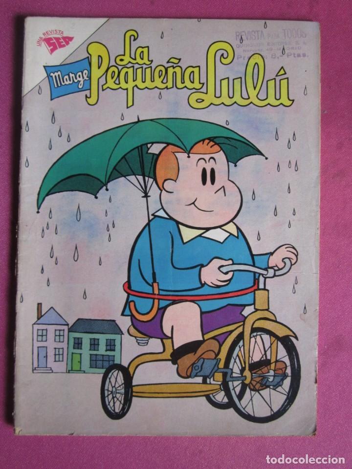 LA PEQUEÑA LULU MARGE 173 NOVARO AÑO 1962 (Tebeos y Comics - Novaro - Otros)