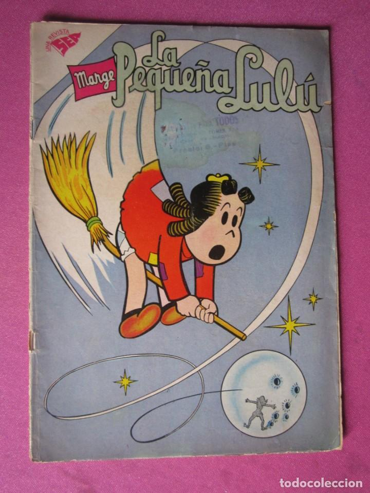 LA PEQUEÑA LULU MARGE 155 NOVARO AÑO 1961 (Tebeos y Comics - Novaro - Otros)