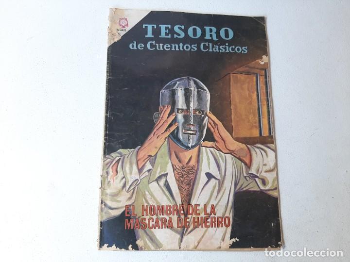 NOVARO : TESORO DE CUENTOS CLASICOS Nº 87 EL HOMBRE DE LA MASCARA DE HIERRO AÑO 1964 ED. NOVARO SER (Tebeos y Comics - Novaro - Otros)