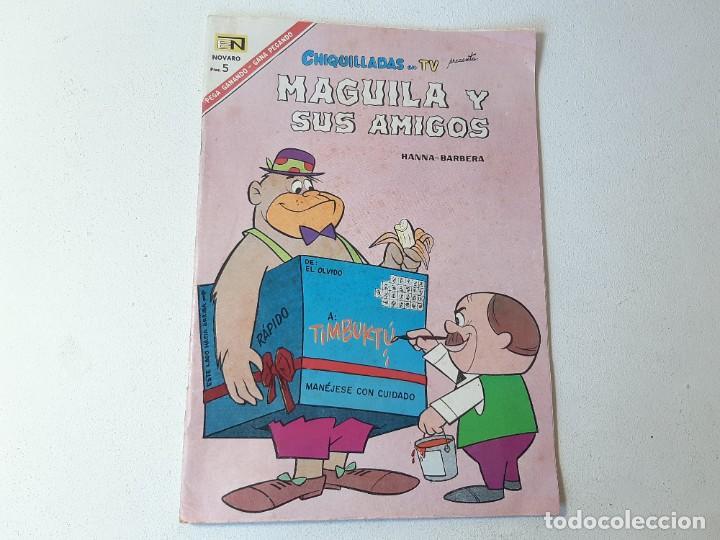 NOVARO : CHIQUILLADAS EN TV Nº 201 - MAGUILA Y SUS AMIGOS - ED. NOVARO AÑO 1967 (Tebeos y Comics - Novaro - Otros)
