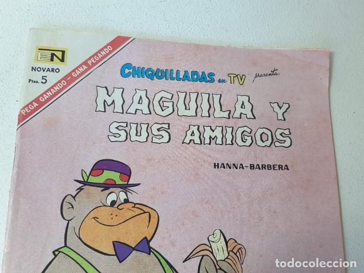 Tebeos: NOVARO : CHIQUILLADAS EN TV Nº 201 - MAGUILA Y SUS AMIGOS - ED. NOVARO AÑO 1967 - Foto 2 - 228086245