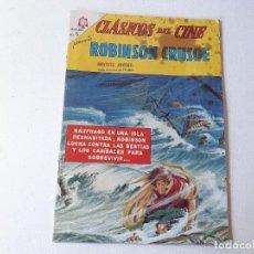 BDs: NOVARO : CLASICOS DEL CINE Nº 124 - ROBINSON CRUSOE - ED. NOVARO AÑO 1967. Lote 228086580