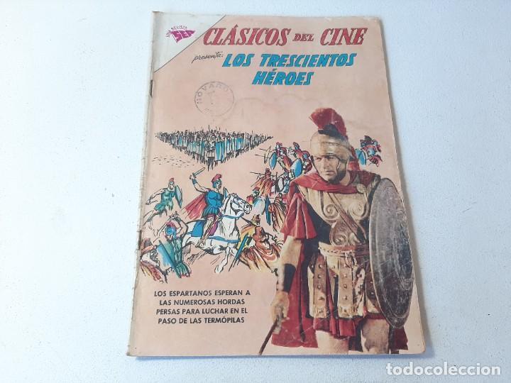 SER NOVARO : CLASICOS DEL CINE AÑO VII Nº 95 - LOS TRESCIENTOS HEROES - ED. NOVARO AÑO 1963 (Tebeos y Comics - Novaro - Otros)