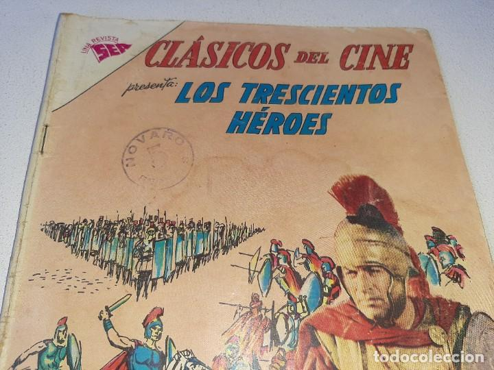 Tebeos: SER NOVARO : CLASICOS DEL CINE AÑO VII Nº 95 - LOS TRESCIENTOS HEROES - ED. NOVARO AÑO 1963 - Foto 4 - 228089050