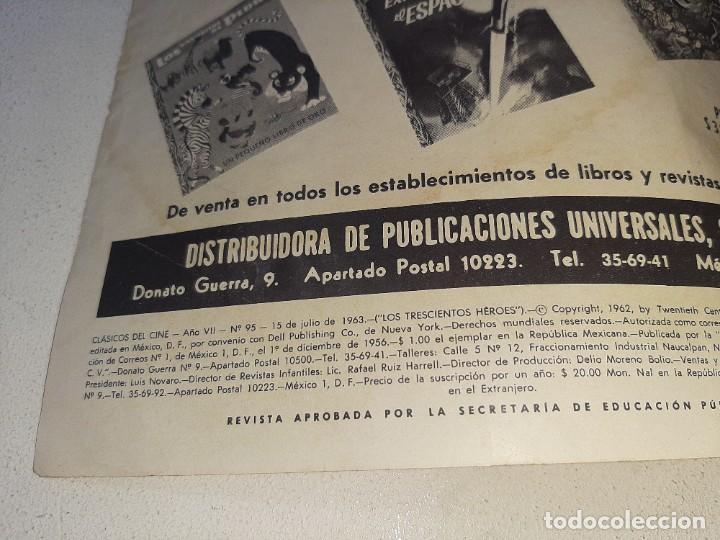Tebeos: SER NOVARO : CLASICOS DEL CINE AÑO VII Nº 95 - LOS TRESCIENTOS HEROES - ED. NOVARO AÑO 1963 - Foto 6 - 228089050