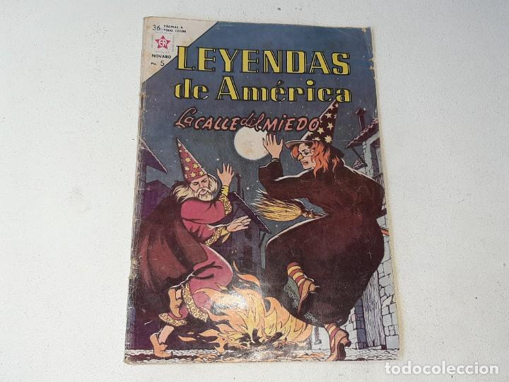 NOVARO : LEYENDAS DE AMERICA AÑO VIII Nº 90 - LA CALLE DEL MIEDO - EDICIONES RECREATIVAS ER AÑO 1963 (Tebeos y Comics - Novaro - Otros)