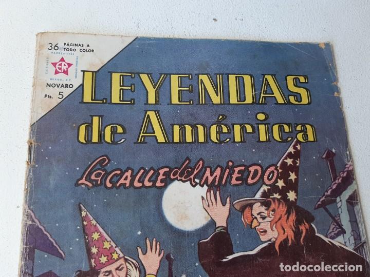 Tebeos: NOVARO : LEYENDAS DE AMERICA AÑO VIII Nº 90 - LA CALLE DEL MIEDO - EDICIONES RECREATIVAS ER AÑO 1963 - Foto 3 - 228106680