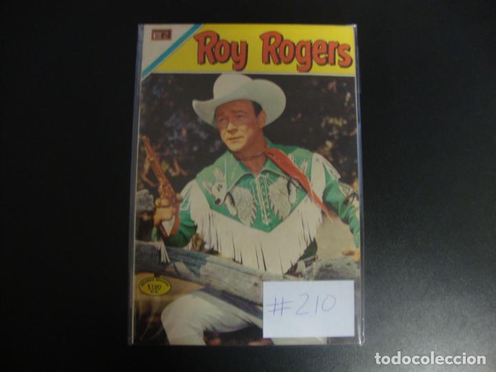 ROY ROGERS # 210 MUY BUEN ESTADO (Tebeos y Comics - Novaro - Roy Roger)