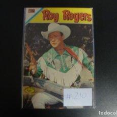 Tebeos: ROY ROGERS # 210 MUY BUEN ESTADO. Lote 228107260