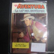 Tebeos: AVENTURA LA LEY DEL REVOLVER # 251. Lote 228111240