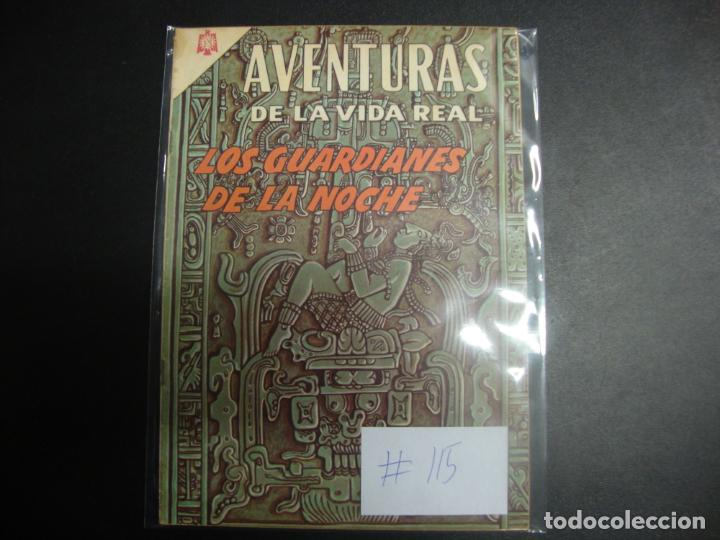 AVENTURAS DE LA VIDA REAL 115 NOVARO (Tebeos y Comics - Novaro - Otros)