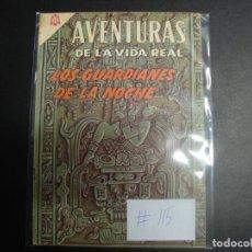 Tebeos: AVENTURAS DE LA VIDA REAL 115 NOVARO. Lote 228141135
