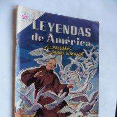 Tebeos: LEYENDAS DE AMERICA Nº 89 NAVARO ORIGINAL. Lote 228253700