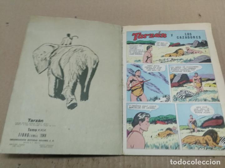 Tebeos: NOVARO LIBRO COMIC LIBROCOMIC TARZAN Nº XXIX 29. 1976. BUEN ESTADO - Foto 2 - 228403760