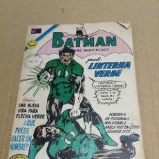 Tebeos: BATMAN Nº 647 NOVARO MUY DIFÍCIL 1972 ORIGINAL PRESENTA A LINTERNA VERDE CUIDENSE DE MI PODER. Lote 228404665