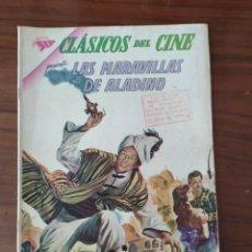 Tebeos: REVISTA NOVARO CLASICOS DEL CINE , LAS MARAVILLAS DE ALADINO NUMERO 93 , 15/06/63. Lote 228484030