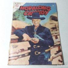 BDs: NOVARO : HOPALONG CASSIDY - WILLIAM BOYD - AÑO X Nº 109 AÑO 1964 EDITORIAL NOVARO JUGUETES MENDOZA. Lote 228528665