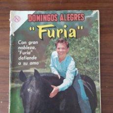 Tebeos: REVISTA NOVARO DOMINGOS ALEGRES FURIA NUMERO 519 , 08/03/64. Lote 228741305