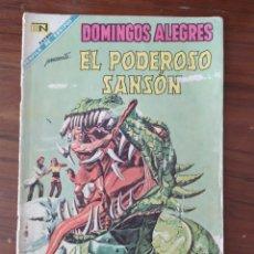 Tebeos: REVISTA NOVARO DOMINGOD ALEGRES EL PODEROSO SANSON NUMERO 763 , 10/11/68. Lote 228741520