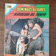 BDs: REVISTA NOVARO DOMINGOS ALEGRES ALREDEDOR DEL TIEMPO NUMERO 720 , 14/01/68. Lote 228741675