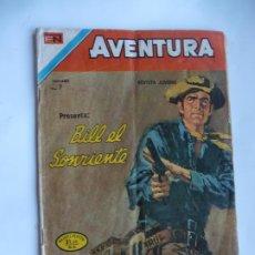 Tebeos: AVENTURA Nº 811 BILL EL SONRIENTE NOVARO ORIGINAL. Lote 229347415