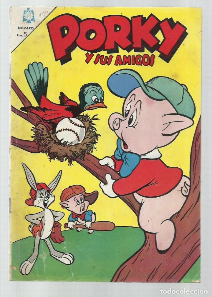PORKY 172, 1966, NOVARO. COLECCIÓN A.T. (Tebeos y Comics - Novaro - Porky)
