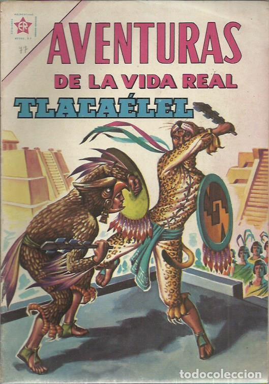 AVENTURAS DE LA VIDA REAL (NOVARO) ORIGINAL 1964-1965 LOTE (Tebeos y Comics - Novaro - Epopeya)