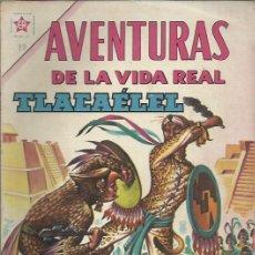 Tebeos: AVENTURAS DE LA VIDA REAL (NOVARO) ORIGINAL 1964-1965 LOTE. Lote 26894468