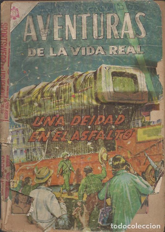 Tebeos: AVENTURAS DE LA VIDA REAL (NOVARO) ORIGINAL 1964-1965 LOTE - Foto 3 - 26894468