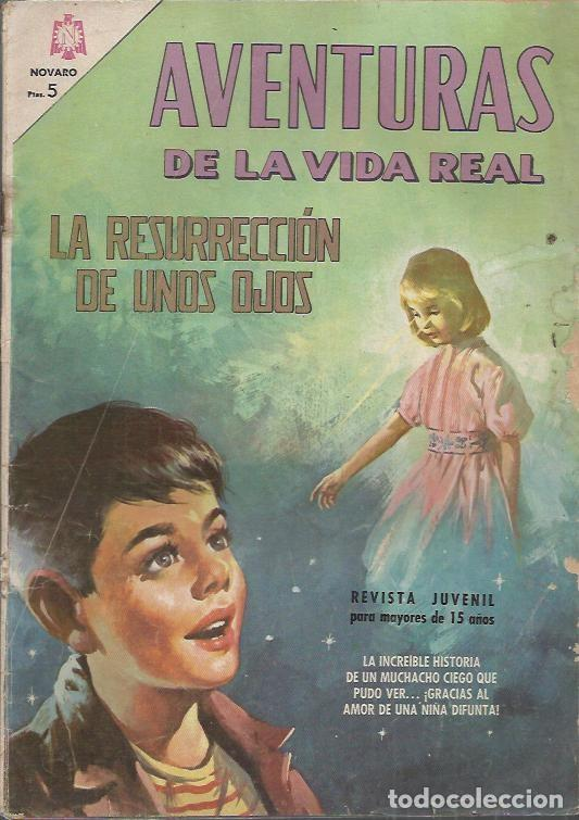 Tebeos: AVENTURAS DE LA VIDA REAL (NOVARO) ORIGINAL 1964-1965 LOTE - Foto 4 - 26894468
