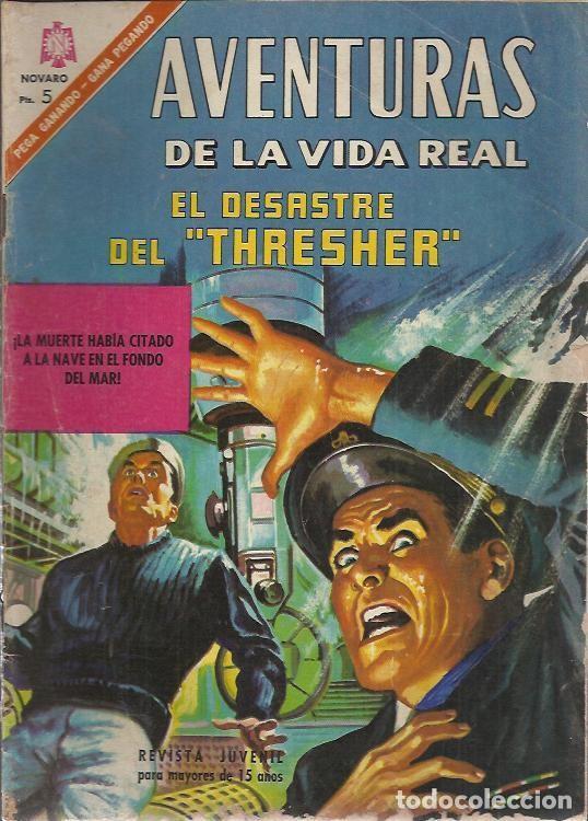 Tebeos: AVENTURAS DE LA VIDA REAL (NOVARO) ORIGINAL 1964-1965 LOTE - Foto 5 - 26894468