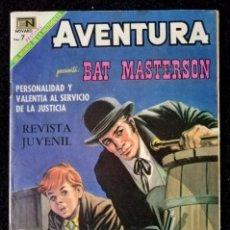 Tebeos: AVENTURA Nº 591 - BAT MASTERSON - NOVARO 1969 ''MUY BIEN CONSERVADO''. Lote 230251870