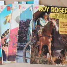 Tebeos: ROY ROGERS 87 142 155 163 170 - ED. NOVARO - TAMBIÉN SUELTOS. Lote 230463140