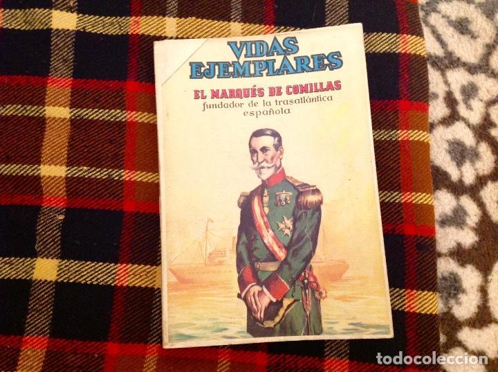 Tebeos: VIDAS EJEMPLARES DE NOVARO TOMO DE ENCUADERNACIÓN CASERA CON 14 NUMEROS - Foto 5 - 230875490