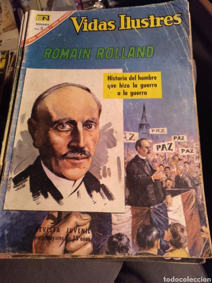 ROMAIN ROLLAND. NOVARO 153, 1967 (Tebeos y Comics - Novaro - Vidas ilustres)