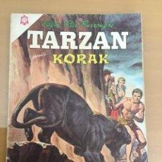 Tebeos: TARZAN Nº 163. NOVARO, 1965. KORAK. EL BARRANCO DEL BRUJO.. Lote 230943330