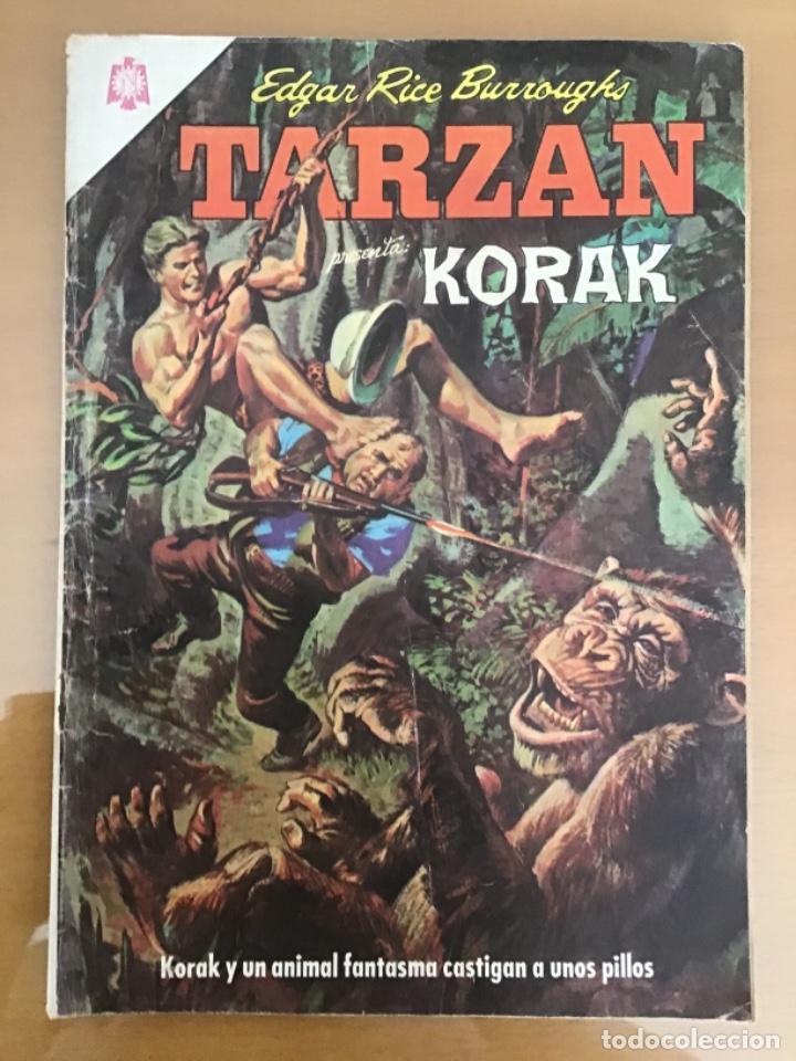 TARZAN Nº 175. NOVARO, 1966. KORAK. EL RINOCERONTE ATACA (Tebeos y Comics - Novaro - Tarzán)