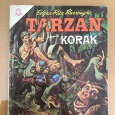 Tebeos: TARZAN Nº 175. NOVARO, 1966. KORAK. EL RINOCERONTE ATACA. Lote 230944065