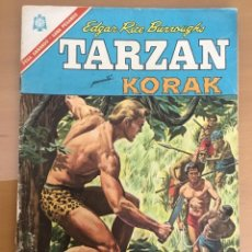 Tebeos: TARZAN Nº 179. NOVARO, 1966. KORAK. EL IMPOSTOR. Lote 230944565