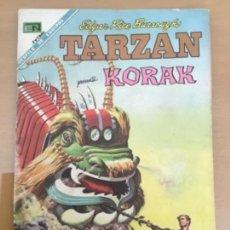 Tebeos: TARZAN Nº 208. NOVARO, 1968. KORAK - EL DRAGON DE LA SELVA. Lote 230946625