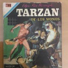 Tebeos: TARZAN Nº 282. NOVARO, 1971. LOS LEONES DE RAS UBIE. Lote 230947565