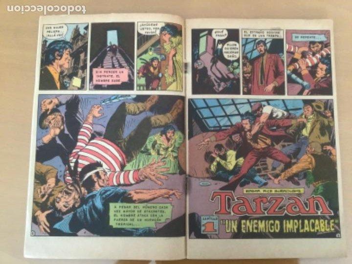 Tebeos: TARZAN nº 409. NOVARO, 1974. UN ENEMIGO IMPLACABLE - Foto 2 - 230995285