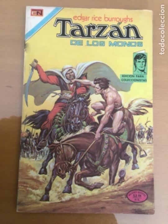 TARZAN Nº 409. NOVARO, 1974. UN ENEMIGO IMPLACABLE (Tebeos y Comics - Novaro - Tarzán)