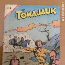 Tebeos: TOMAJAUK N º 144. NOVARO, 1967. TOMAJAUK, EL ACERTIJO DE LOS CINCO DIBUJOS.. Lote 231091235