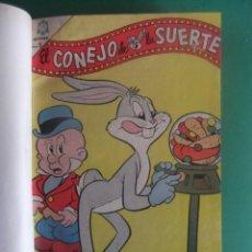 Livros de Banda Desenhada: EL CONEJO DE LA SUERTE LOTE DE 20 NUMEROS ENCUADERNADOS EN UN TOMO NOVARO. Lote 231165870