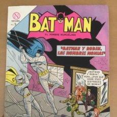 Tebeos: BATMAN, Nº 216. NOVARO, 1964. BATMAN Y ROBIN, LOS HOMBRES MOMIAS.. Lote 231258290