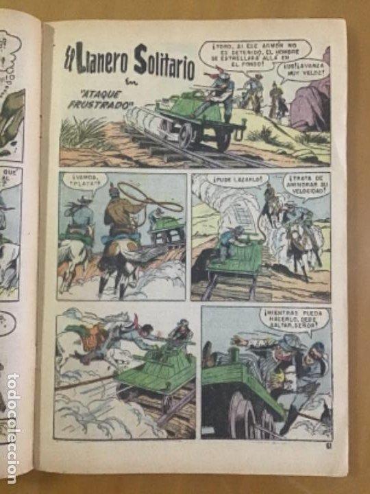 Tebeos: EL LLANERO SOLITARIO n º 243. NOVARO, 1971. - Foto 3 - 231261095