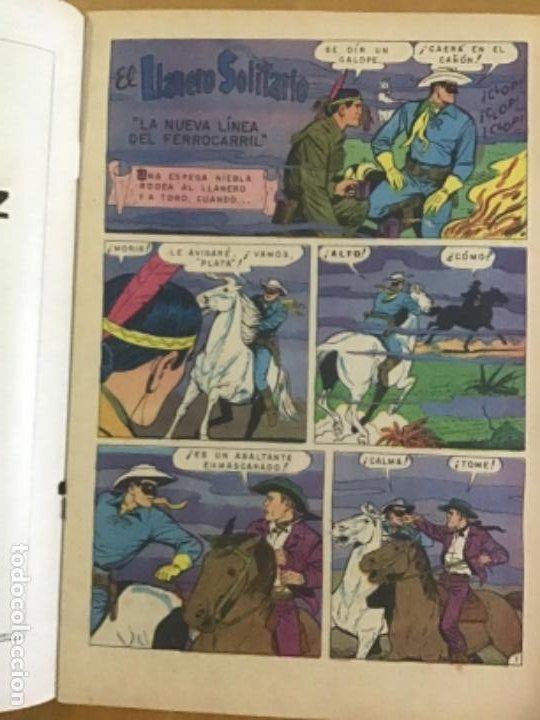 Tebeos: EL LLANERO SOLITARIO n º 295. NOVARO, 1973. - Foto 2 - 231261230