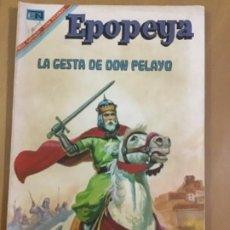 Tebeos: EPOPEYA N º 105. EDITORIAL NOVARO, 1967. LA GESTA DE DON PELAYO.. Lote 231261710